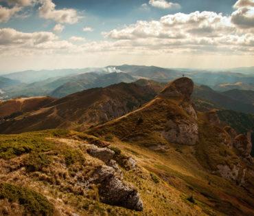 Stone in mountain