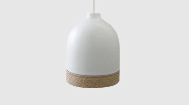 Ceramic small pendant light
